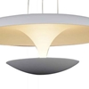 """Picture of 16"""" LED Down Pendant with White finish"""