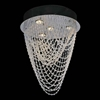 "Picture of 16"" Tenda Modern Crystal Foyer / Staircase Chandelier Stainless Steel Base 4 Lights"