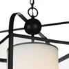 """Picture of 17"""" 1 Light Candle Mini Pendant with Oil Rubbed Brown finish"""
