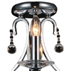 """Picture of 17"""" 3 Light  Flush Mount with Chrome finish"""