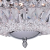 """Picture of 17"""" 3 Light Up Chandelier with Chrome finish"""