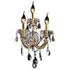 "Picture of 17"" 3 Light Wall Sconce with Gold finish"