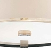 """Picture of 17"""" 4 Light Drum Shade Chandelier with Chrome finish"""