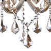 """Picture of 17"""" Maria Theresa Traditional Crystal Wall Sconce Polished Chrome 3 Lights"""