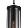 "Picture of 18"" 1 Light Down Mini Pendant with Reddish Brown finish"