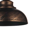 "Picture of 18"" 1 Light Down Pendant with Antique Copper finish"