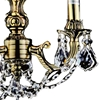 """Picture of 18"""" 3 Light Up Chandelier with French Gold finish"""