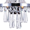 """Picture of 18"""" 3 Light Wall Sconce with Chrome finish"""