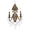 "Picture of 18"" 3 Light Wall Sconce with French Gold finish"