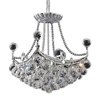 "Picture of 18"" 4 Light  Chandelier with Chrome finish"