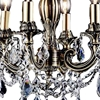 "Picture of 18"" 4 Light Up Chandelier with French Gold finish"