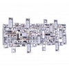 "Picture of 18"" 4 Light Vanity Light with Chrome finish"