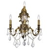 """Picture of 18"""" 4 Light Wall Sconce with French Gold finish"""