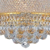 "Picture of 18"" 6 Light  Chandelier with Gold finish"