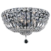 "Picture of 18"" 6 Light Bowl Flush Mount with Chrome finish"