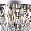 "Picture of 18"" 8 Light  Flush Mount with Chrome finish"