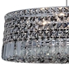 "Picture of 18"" 8 Light Down Chandelier with Chrome finish"