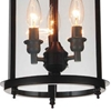 "Picture of 18"" Lantern Contemporary Rubbed Oil Bronze Round Pendant 3 Lights"