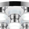 """Picture of 18"""" LED  Flush Mount with Chrome finish"""