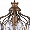 """Picture of 19"""" 1 Light  Chandelier with Antique Bronze finish"""