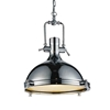 """Picture of 19"""" 1 Light Down Pendant with Chrome finish"""