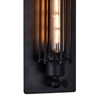 "Picture of 19"" 1 Light Wall Sconce with Black finish"