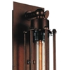 "Picture of 19"" 1 Light Wall Sconce with Chocolate finish"