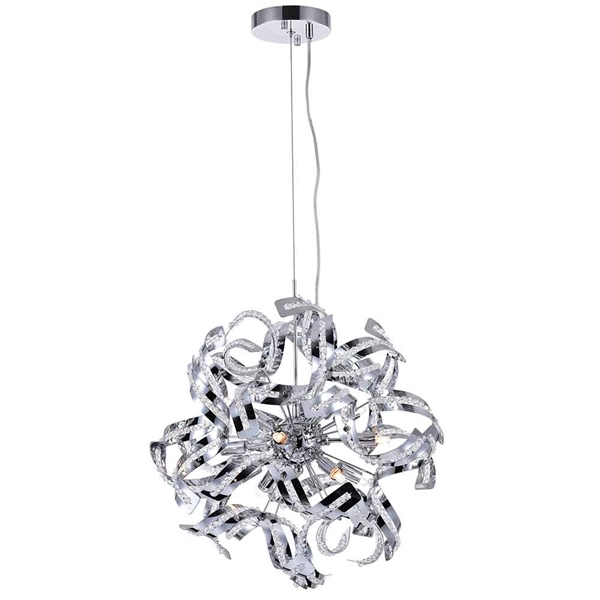 "Picture of 19"" 12 Light  Chandelier with Chrome finish"
