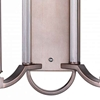 "Picture of 19"" 2 Light Wall Sconce with Brownish Silver finish"