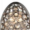 """Picture of 19"""" 2 Light Wall Sconce with Satin Nickel finish"""