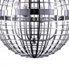 """Picture of 19"""" 4 Light  Chandelier with Chrome finish"""