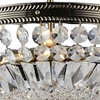 """Picture of 19"""" 4 Light Down Chandelier with Antique Brass finish"""
