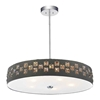 "Picture of 19"" 5 Light Down Chandelier with Black finish"