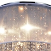 """Picture of 19"""" 8 Light Drum Shade Flush Mount with Chrome finish"""
