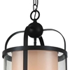 "Picture of 20"" 1 Light Candle Mini Pendant with Oil Rubbed Brown finish"