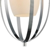 """Picture of 20"""" 1 Light Down Mini Pendant with Satin Nickel finish"""