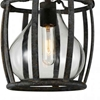"Picture of 20"" 1 Light Down Pendant with Antique Black finish"