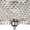 "Picture of 20"" 1 Light Table Lamp with Chrome finish"