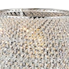 """Picture of 20"""" 1 Light Table Lamp with Chrome finish"""