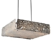 """Picture of 20"""" 10 Light Down Chandelier with Chrome finish"""