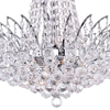 "Picture of 20"" 11 Light Down Chandelier with Chrome finish"