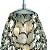 "Picture of 20"" 2 Light Drum Shade Mini Pendant with Chrome finish"