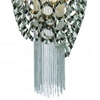 """Picture of 20"""" 2 Light Drum Shade Mini Pendant with Chrome finish"""
