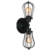 """Picture of 20"""" 2 Light Wall Sconce with Black finish"""