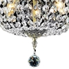 "Picture of 20"" 3 Light Bowl Flush Mount with French Gold finish"