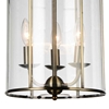 "Picture of 20"" 3 Light Up Chandelier with Antique Bronze finish"