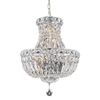 "Picture of 20"" 4 Light  Chandelier with Chrome finish"
