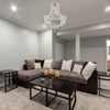 """Picture of 20"""" 4 Light  Chandelier with Chrome finish"""