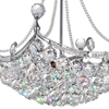 """Picture of 20"""" 4 Light Down Chandelier with Chrome finish"""