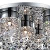 "Picture of 20"" 5 Light  Flush Mount with Chrome finish"